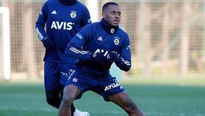 Fenerbahçe'de Bright Osayi-Samuel ilk idmanına çıktı