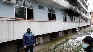 Romanyada koronavirüs hastanesinde feci yangın: 4 ölü