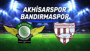 Akhisarspor Bandırmaspor maçı saat kaçta, hangi kanaldan canlı yayınlanacak İşte karşılaşma öncesi istatistikler