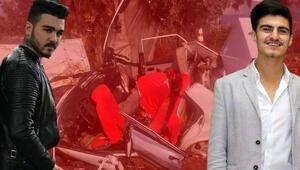 İzmirde feci kaza İki genç hayatını kaybetti