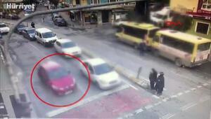 Girdiği evden kontak anahtarını alıp otomobili çalan hırsız yakalandı