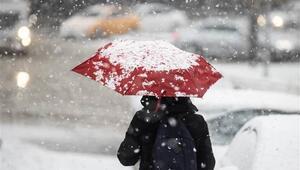 Ankara için yoğun kar uyarısı