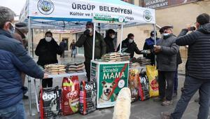 Ürgüp Belediyesinden sokak hayvanları için mama
