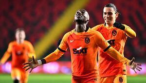 Gaziantep FK 1-2 Galatasaray (Maçın özeti ve golleri)