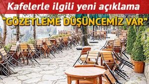 Lokanta, restoran ve kafeler açılacak mı Cumhurbaşkanı Erdoğandan açıklama: Gözetleme düşüncemiz var
