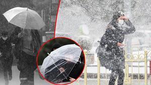 Meteoroloji tüm yurdu uyardı Artvin hariç her yerde yağış var: Yoğun kar, sağanak, fırtına