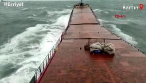 Batan kuru yük gemisinde yaşanan dehşetin görüntüleri ortaya çıktı