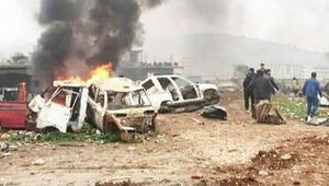 Afrinde bomba yüklü araçla saldırı:5 ölü, 22 yaralı