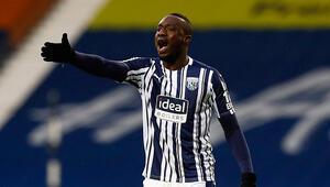 Galatasaraydan ayrılan Mbaye Diagne, West Bromwich ile ilk maçında asist yaptı