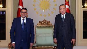 Cumhurbaşkanı Erdoğan, Kuzey Makedonya Anayasa Mahkemesi Başkanı Muratı kabul etti