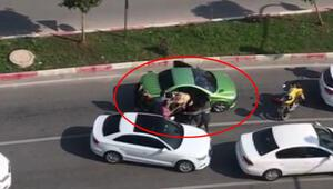 Trafikte 3 kadına sopayla saldırmıştı Cezası belli oldu...