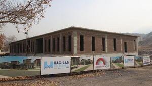 Hacılarda Aile Sağlığı merkezi inşaatı devam ediyor