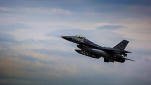 Türkiyeden F-16 hamlesi
