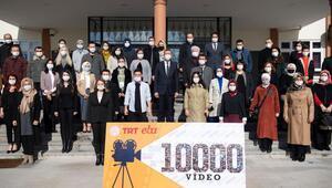 10 bininci video çekildi
