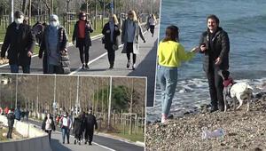 İstanbullular Caddebostan Sahiline akın etti