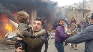 Suriyede kanlı saldırı: 10 ölü, 24 yaralı