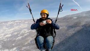 950 metre yükseklikte çay keyfi