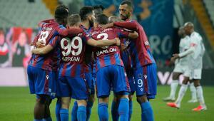Beşiktaş 1-2 Trabzonspor / Maçın özeti ve goller