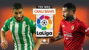 İspanya La Liga maçları CANLI YAYINLA Misli.comda Real Betisin iddaa oranı...