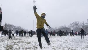 ABDnin doğu yakasında kar fırtınası
