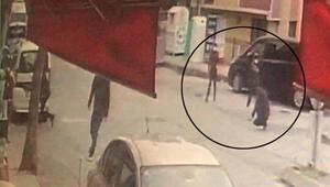 Kağıthanede sokak ortasında dehşet Vurup kaçtılar