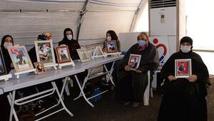 Diyarbakırda HDP önündeki evlat nöbetinde 518inci gün; aile sayısı 197 oldu