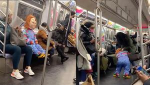 New York metrosundaki sosyal deney olay oldu