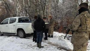 Kısıtlamada domuz avı dronla tespit edilen 3 kişiye 9 bin TL ceza