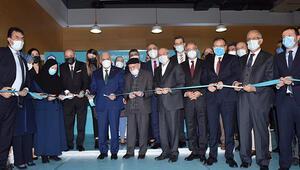 24 saat açık kalacak kütüphane, Binali Yıldırım ve Efkan Alanın katılımıyla açıldı