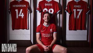 Liverpool, Ben Davies transferiyle savunmasına takviye yaptı