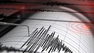 Son dakika deprem: İzmir açıklarında 4.8 büyüklüğünde deprem