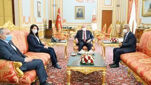 Şentop'a HDP ziyareti