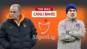 Aykut Kocaman, Başakşehirde ilk maçında Fatih Terime karşı Galatasarayın iddaa oranı...