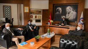 Başkan Kocakayaya teşekkür ziyareti