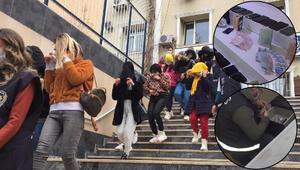 İstanbulda dev fuhuş operasyonu Ponçik grubu çökertildi: Çıplak fotoğrafla şantaj...