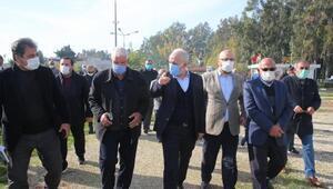 Akdeniz Belediye Başkanı Gültak'tan mahalle ziyareti