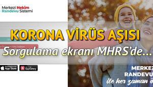 75 yaş üstü aşı randevusu nasıl alınır İşte e Nabız aşı sırası sorgulama ve MHRS aşı randevusu alma ekranı