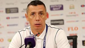 Çaykur Rizespor Yardımcı Antrenörü Gabriel Margarit: Şanssız bir gol yedik