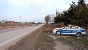 Eskişehir'de maket polis aracı, 3 boyutlu hale getirildi