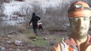 Çanakkalede Mürsel Meracıoğlundan 8 gün sonra acı haber Türkiyede ilk kez suda arama yapan kadavra köpekleri buldu