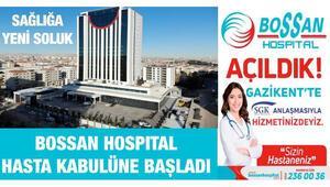 Güneydoğu Anadolunun en büyük hastanesi... Bossan Hospital hizmete girdi