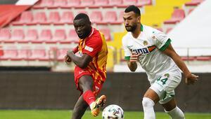 Kayserispor 1-1 Alanyaspor maçı /Maçın özeti ve golleri