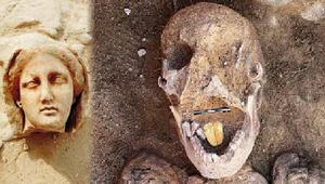 Mısırın altın dilli mumyası