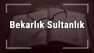 Bekarlık Sultanlık atasözünün anlamı ve örnek cümle içinde kullanımı (TDK)