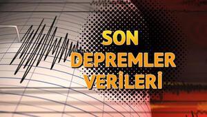 Deprem mi oldu Son depremler listesine yenileri ekleniyor