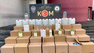 Adana'da sahte içki ve kaçak sigara operasyonu: 7 gözaltı