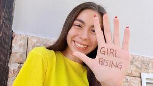 Türk kızlarının sesi olmak istiyorum