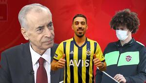 Son Dakika: Galatasaray Başkanı Mustafa Cengizden İrfan Can Kahveci, Fenerbahçe ve Erencan Yardımcı açıklaması