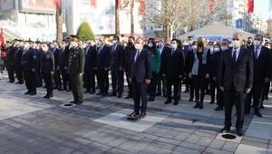 Atatürkün Denizliye gelişinin 90'ıncı yılı, törenle anıldı