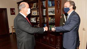 Ersin Tatardan kritik görüşme... Pozisyonumuz Türkiye ile tam bir uyum içindedir